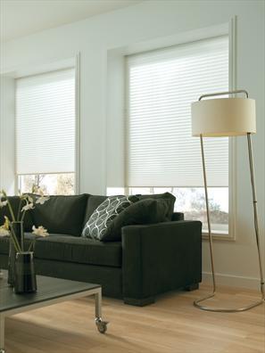 Trend Wohnzimmer mit wei e Plissee