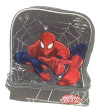 Marvel Ultimate Spiderman Dual Compartment Lunch Box Lunch Bag - Webshot