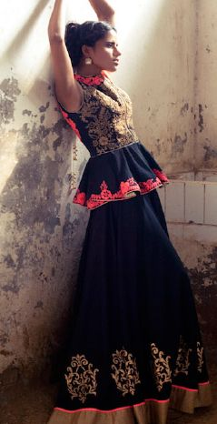 Trun B - in love with J by Jannat. Indian Couture.