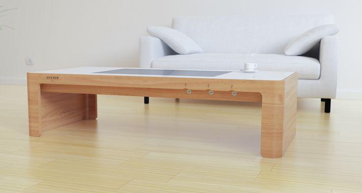 moobo | CUSTOM coffee table with USB plugs