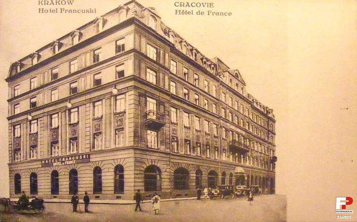 1925 , Hotel Francuski w Krakowie.