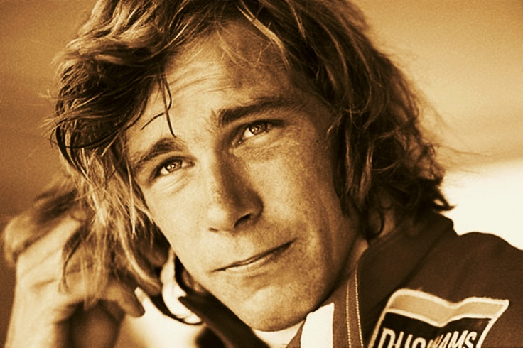 James Hunt 1970's formula 1 bad boy lived the life.....albeit a short life....