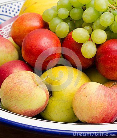 #peaches #grapes
