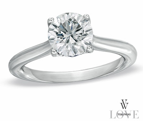 Anillo de compromiso Vera WangDiamond Engagement Rings, Vera Wang, 14K White, Engagement Rings Photos, Rings Engagement, White Gold, Collection 1 1 3, Rings Ideas, Diamonds Engagement Rings