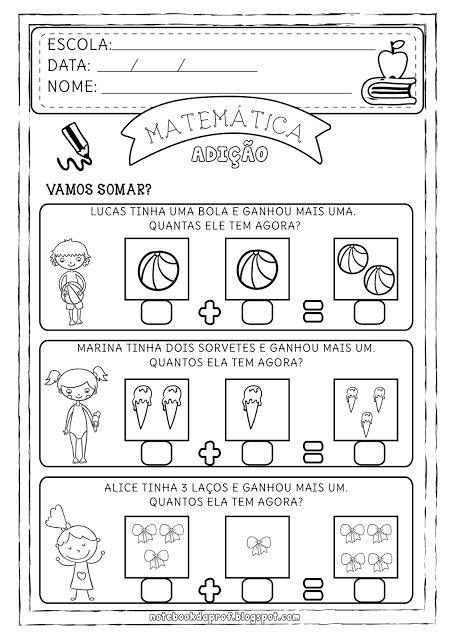 Notebook da Profª: Soma