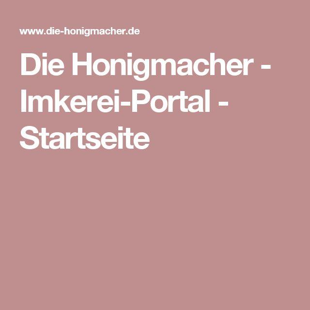 Fabulous Die Honigmacher Imkerei Portal Startseite