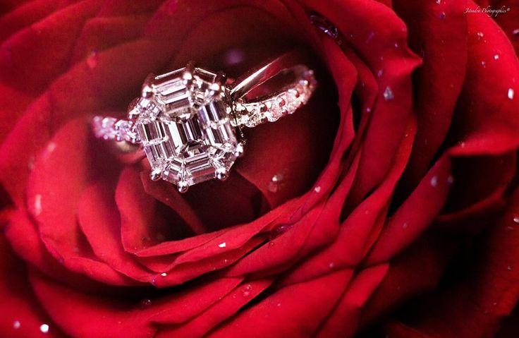 A gorgeous diamond! Photo by Jitendra Abhishek, Mumbai #weddingnet #wedding #india #indian #indianwedding #weddingdresses #mehendi #ceremony #realwedding #lehenga #lehengacholi #choli #lehengawedding #rings #engagement #diamonds