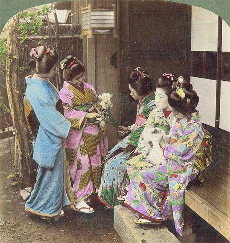vintage everyday: Old Japan