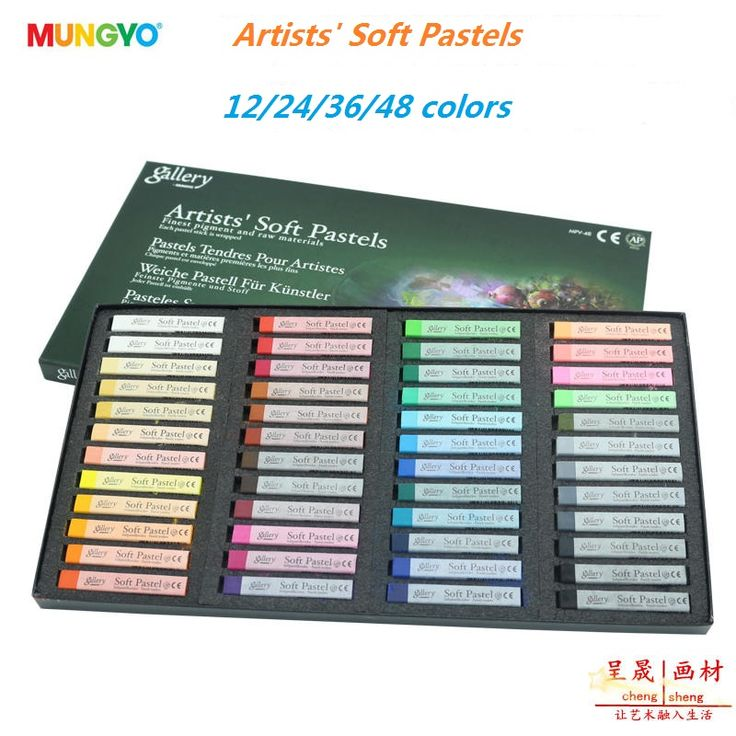 Painting Crayons New Soft Pastel 24/32/48/12 Colors/Set Art Drawing Set Chalk Hair Color Crayon Brush Stationery for Students