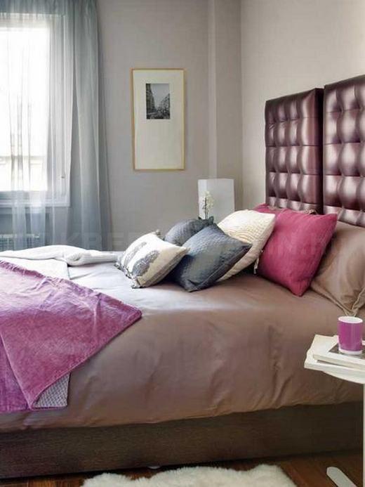 Kényelmes otthon 45-nm-en, kellemes pink kiegészítőkkel