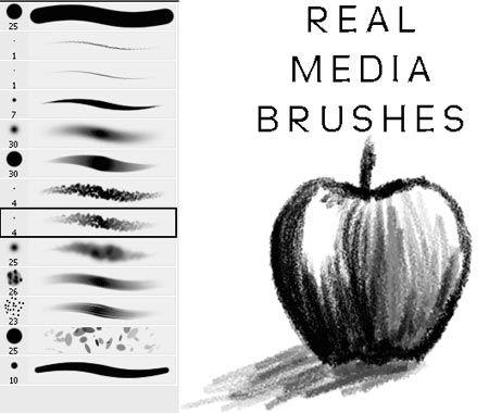 how to make light brushes solid photoshop