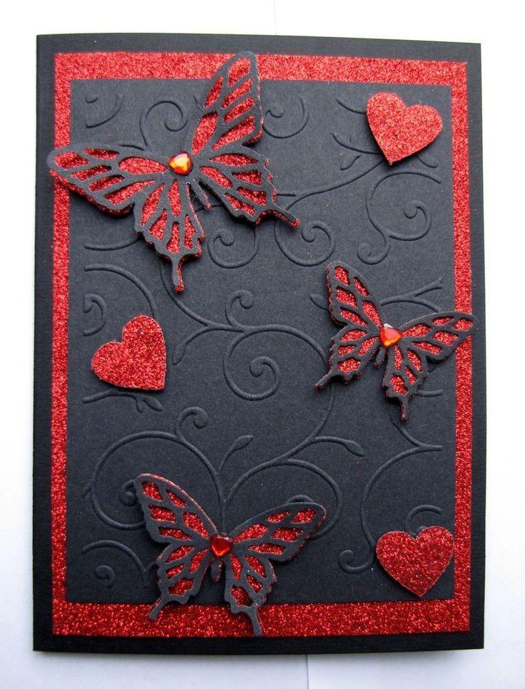 Handmade Gothic Harajuku Fashion W H Naoto Spiderweb Bag: Handmade Gothic Valentines Card