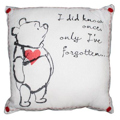 Winnie the Pooh cushion                                                                                                                                                                                 More