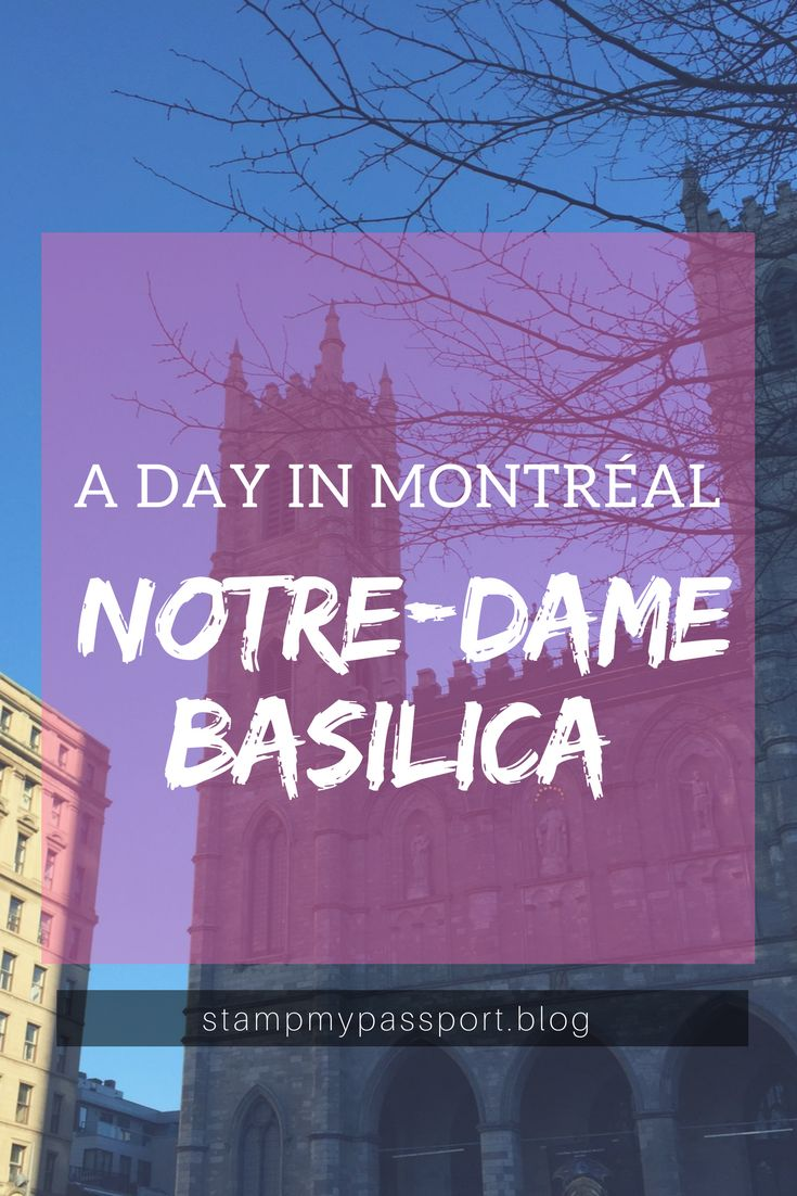 Visiting Montreal? You better stop by Notre Dame Basilica! #montreal #quebec #travel #travelblog #blog #blogger #newpost #waderlust #canada #notredame