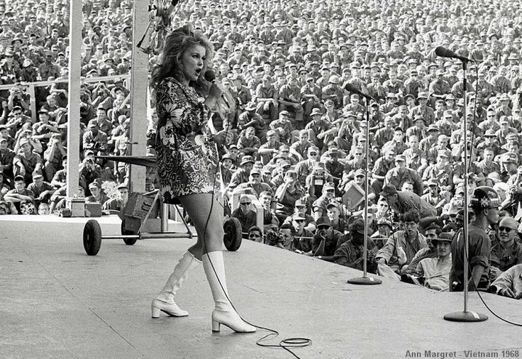 Did Ann-Margret perform in Vietnam