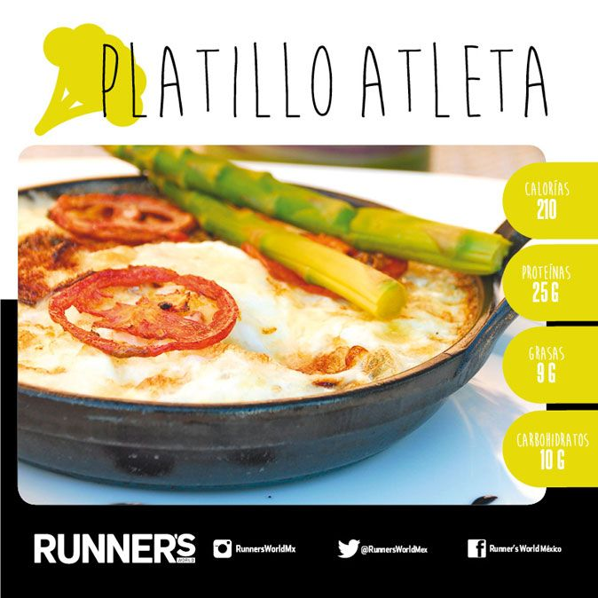 Platillo de la semana: Frittata Saludable | Runners World México