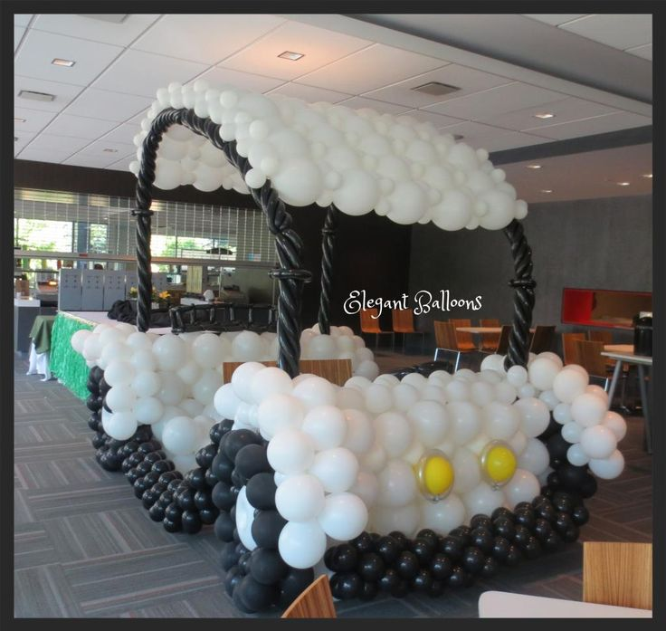 Balloon Golf Cart Display Piece for Sporting