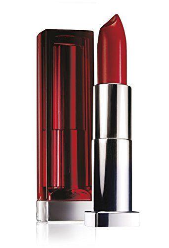 Maybelline New York Color Sensational  - Rouge à lèvres Rouge - 470 red revolution Price:     Une formule enrichie en pigments purs, séléctionnés pour leur haute concentration: jamais la couleur n'a...