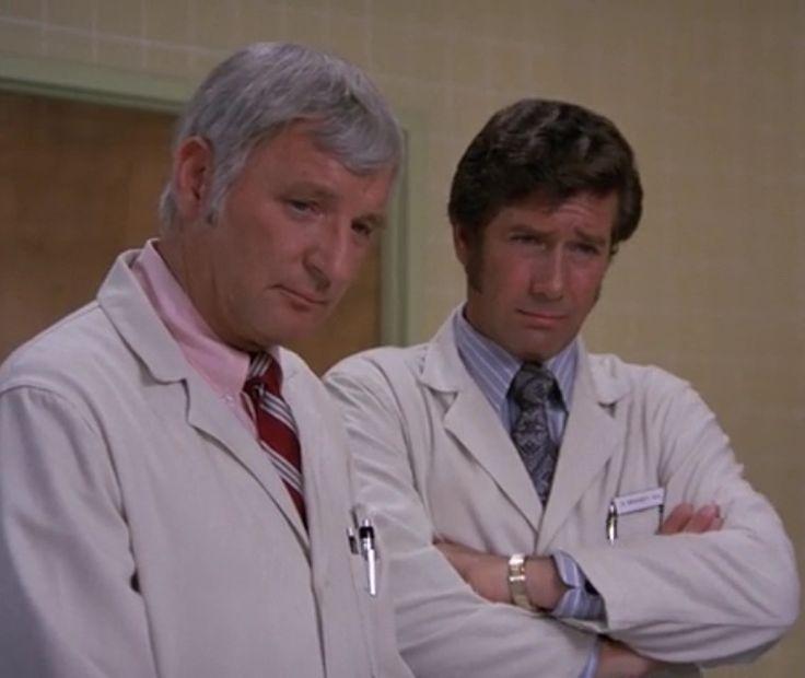 "Dr Joe Early (Bobby Troup) and Dr. Kelly Brackett (Robert Fuller), ""Surprise"""