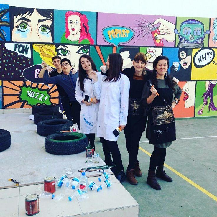 #pop-art #duvarboyama #murals