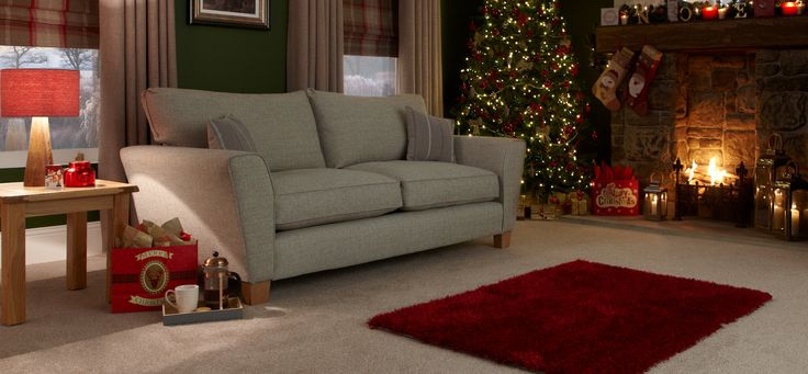 Clarke 3 Seater Sofa Standard Back