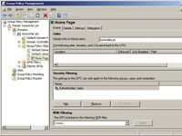 Network Administration: Creating Group Policy Objects.