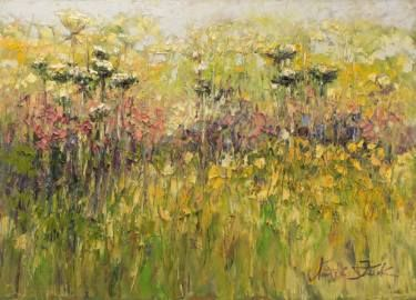 "Saatchi Art Artist Margaret Raven; Painting, ""Impression of flashing light"" #art"