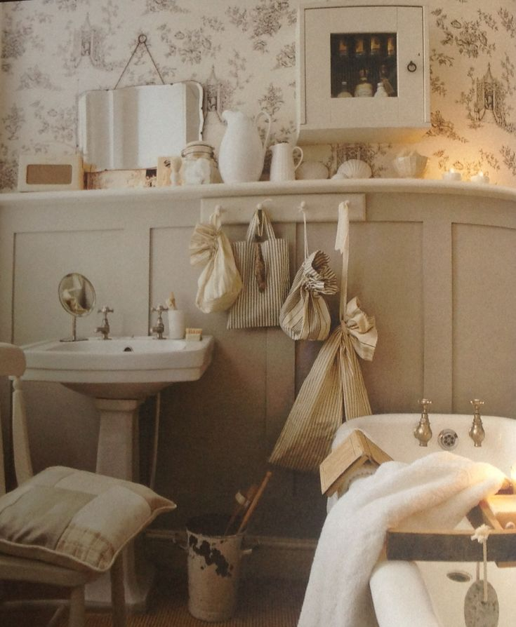 99 best images about ideas for the farm on pinterest for Country cottage style bathrooms