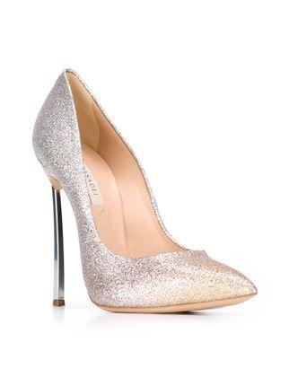 Casadei блестящие туфли 'Blade'