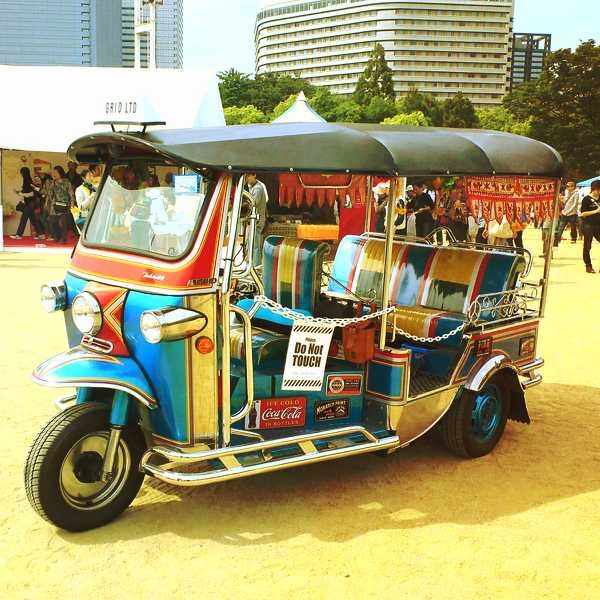 Pimp my ride. (TUKTUK@Thai Festival Osaka)