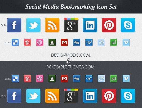 Socials icon Designmodo   scovato by Blogghidee