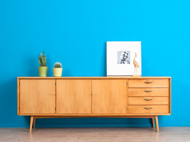 hochwertiges sideboard 60er jahre r ster kommode. Black Bedroom Furniture Sets. Home Design Ideas