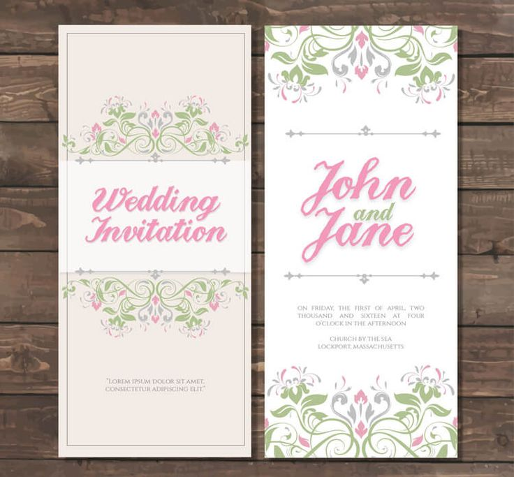 34 Best WEDDING INVITATIONS Images On Pinterest