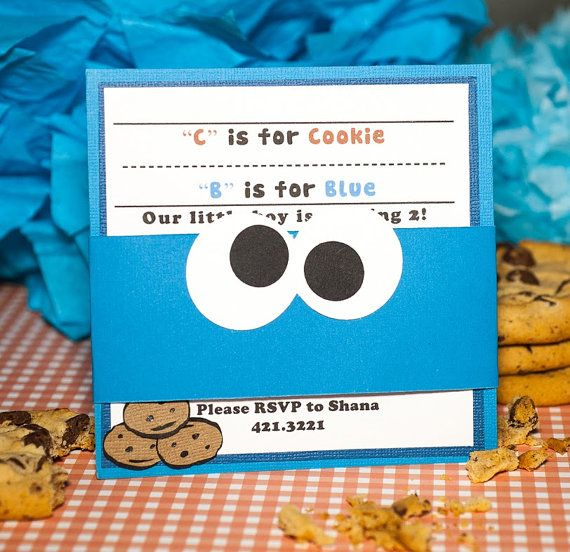 90 Best Images About Cookie Monster Party On Pinterest