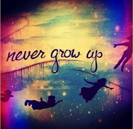 Quote  Peter O Tool  Peter Pan Tinkerbell  Never Growing Up  PeterQuotes About Growing Up Peter Pan