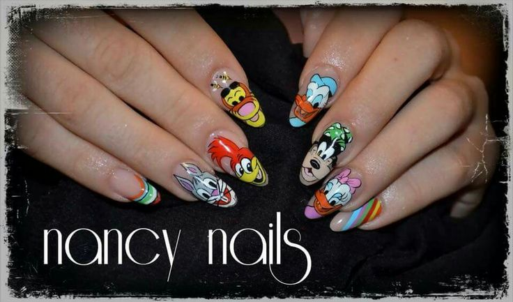 Nancynail art cartoon