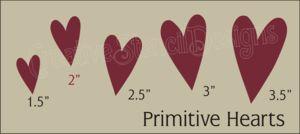 Primitive Country Stencils
