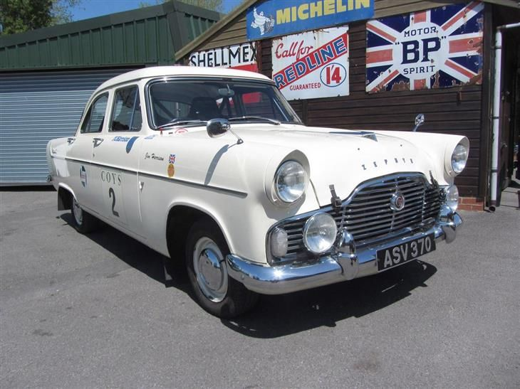 Classic 1958 Ford Zephyr Mk 2 Historic Competition Car For Sale In