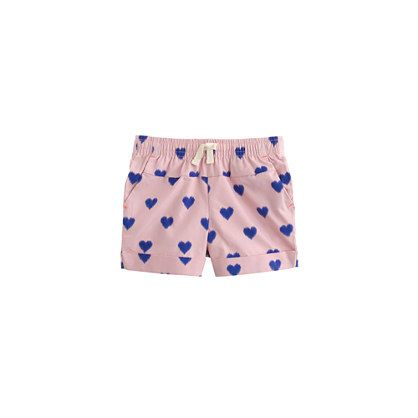 J.Crew - Baby pull-on short in fuzzy hearts
