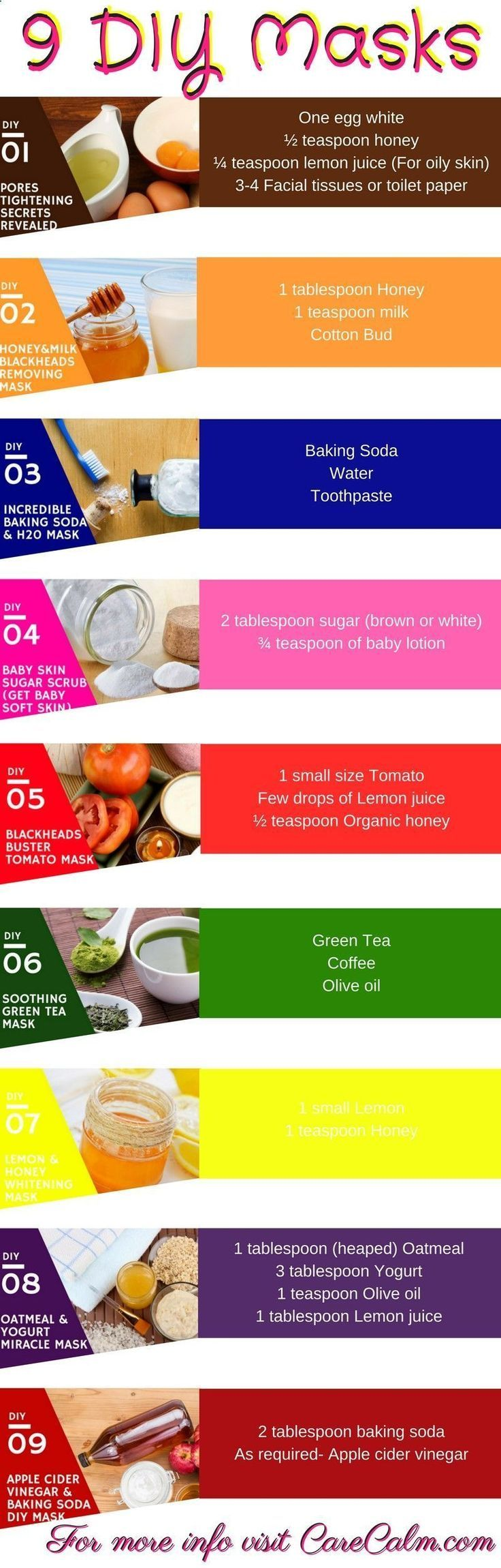 6 Super-Easy Homemade Face Masks for Glowing Skin …