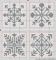 Knitting Charts Snowflake Cross Stitch 56 Ideas #knitting ...