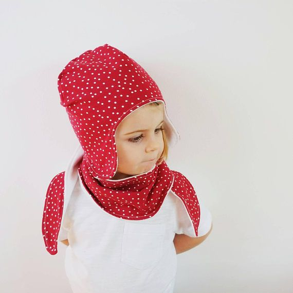 Check out this item in my Etsy shop https://www.etsy.com/uk/listing/551651114/hat-and-scarf-set-redfleece-linedear