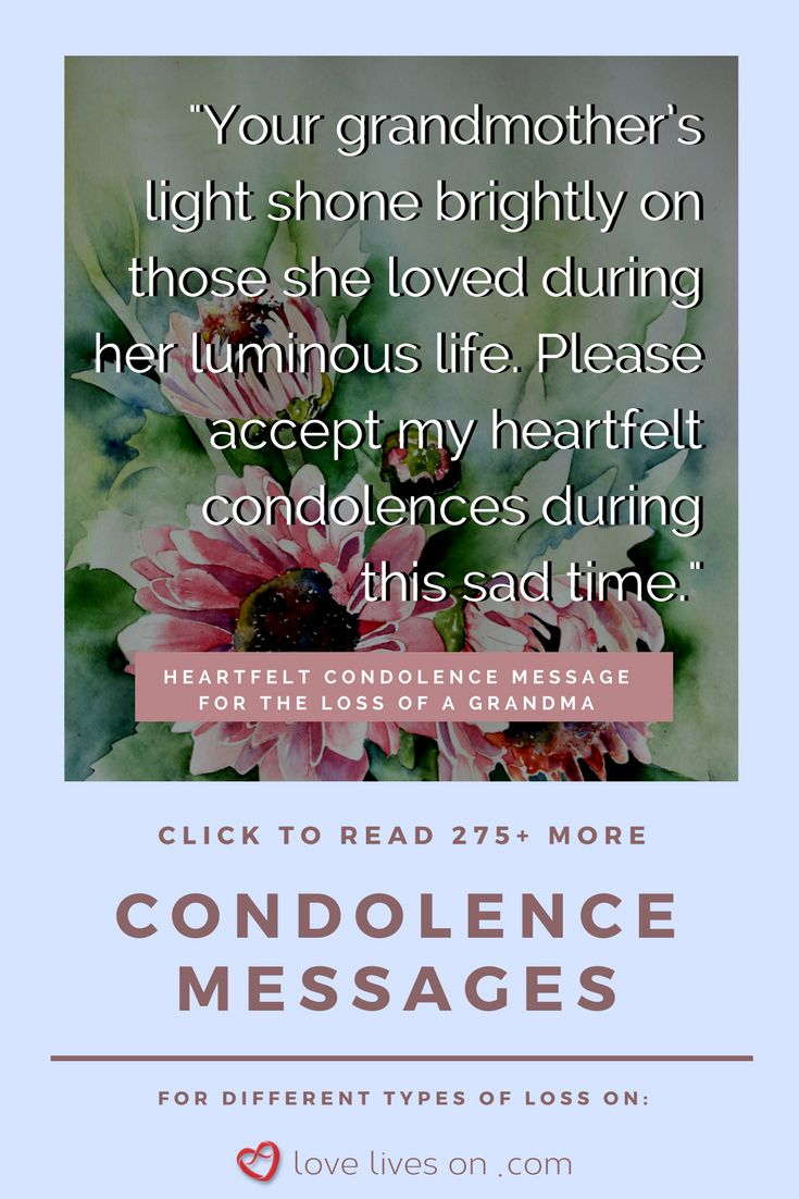 121 best sympathy quotes condolence messages images on pinterest a heartfelt condolence messages for the loss of a grandma click to browse 275 kristyandbryce Choice Image