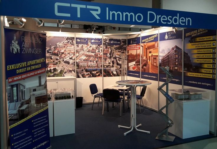 """In the days 2. 3. – 5. 3. 2017 we presented our German projects Residenz am Zwinger, Haus Merkur and Marina Apartments at the fair """"Haus 2017"""" in Dresden. Thank you for your great interest! http://www.ctrgroup.cz/de/immobilienprojekte"""