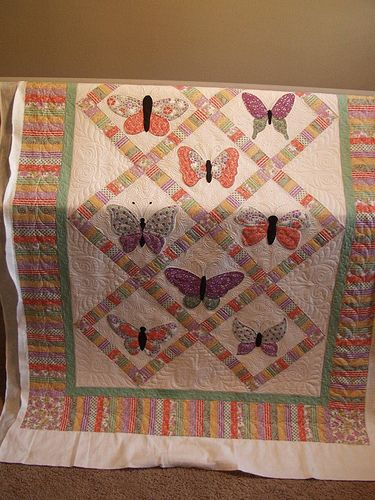 68 Best Quilts Butterfly Images On Pinterest Quilt