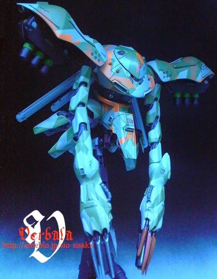 "Custom Build: 1/144 MS/A-01C HY-GOGG Custom ""AEgir"" - Gundam Kits Collection News and Reviews"