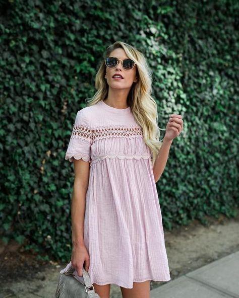 Blush Babydoll dress!
