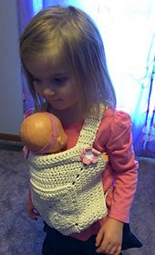 Ravelry: Mini-Me Teddy/Doll Carrier pattern by Heather C Gibbs