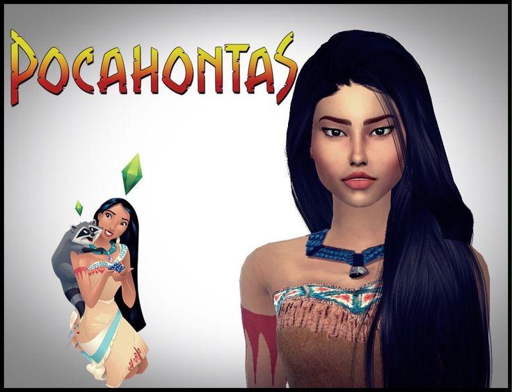 Los Sims 4 | Creando a Pocahontas|  Video👉🏻👉🏻 https://youtu.be/VTDvy03X9W0