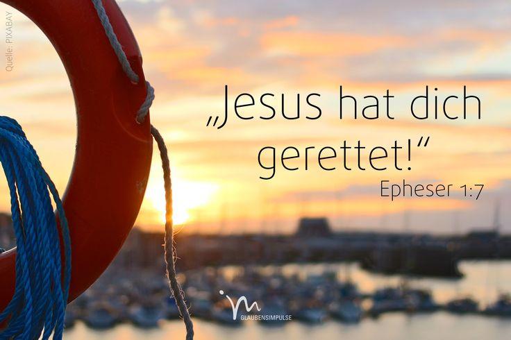 """""""Denn durch sein #Blut, das er am #Kreuz #vergossen hat, sind wir #erlöst, sind unsere #Sünden #vergeben. Und das #verdanken wir allein #Gottes #unermesslich großer #Gnade."""" #Epheser 1:7 #glaubensimpulse"""